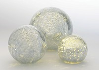 Boule lumineuse champagne